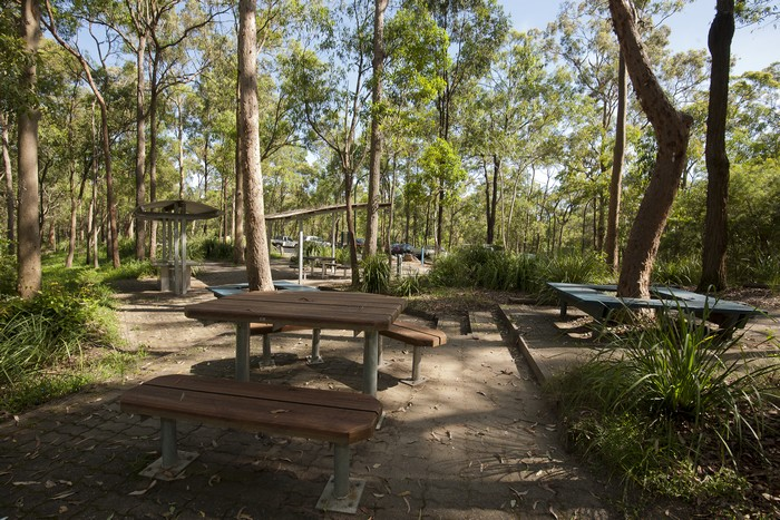 Picnic area Toohey Forest